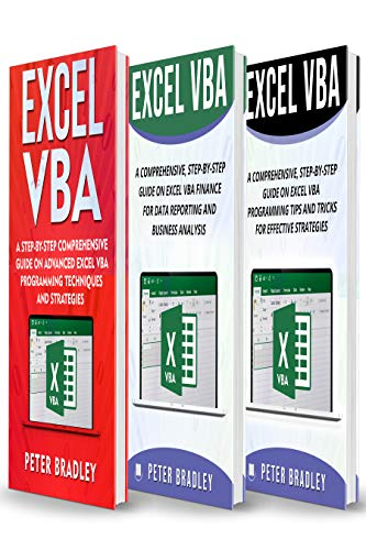 Excel VBA : A Step-by-Step Simplified Guide to Excel VBA Programming Techniques, Data Reporting, Business Analysis and Tips and Tricks for Effective Strategies (English Edition)