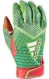 adidas Adizero 8.0 SNOWCONE Football Receiver's Gloves Melon X-Large