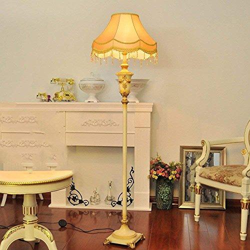 XIN vloerlamp moderne eenvoudige vloerlamp woonkamer vloerlamp slaapkamer studie lamp Europese retro luxe staande lamp