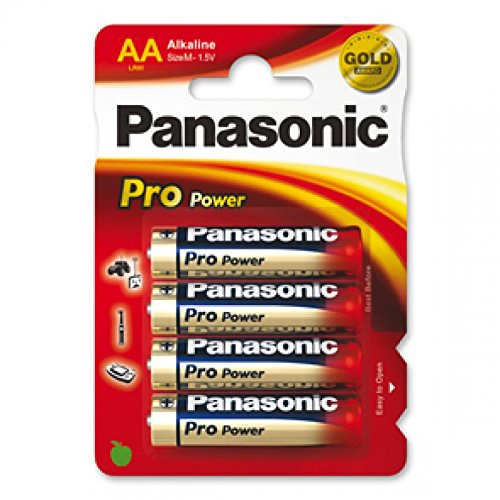 Mignonbatterie PANASONIC PRO POWER LR6PPG mit AlMn/ 1.5V/ mAh