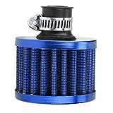 WEFH Filtro de Aire de modificación Cabezal de Filtro de Aire Filtro de Aire de Cabeza de Hongo de Invierno pequeño, Azul
