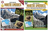 Mark Twain - Exploring North America, Grades 5 - 8 (Continents of the World)