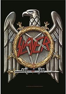 Bioworld Merchandising - Slayer poster tissu Eagle 75 x 110 cm