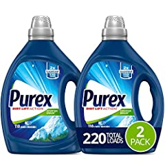 Heighten Your Senses with the Refreshing outdoor scent of crisp Mountain air and springtime floral blooms An extraordinary clean from an all purpose Smart value laundry detergent This concentrated Formula delivers 2X more cleaning Power in every drop...