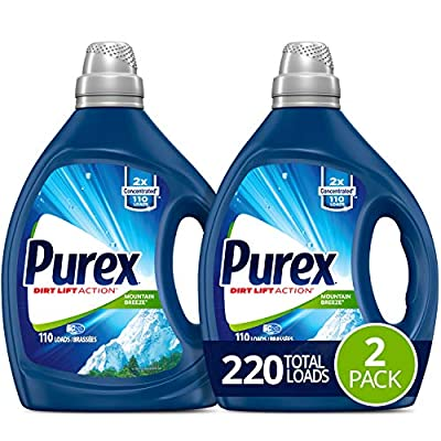 Purex Liquid Laundry Detergent, Mountain Breeze