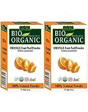 Indus Valley 100 Organic Orange Peel Powder Set of 2 200g