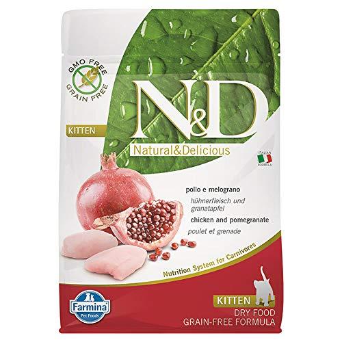 N&d low grain N&D N&D Grain Free Kitten Poulet et Grenade Sec 300 g Multicolore Unique