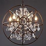 Retro diseño industrial lámpara colgante de estilo Loft comedor vintage retro...