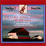 The Early String Quartet in the U.S.A.
