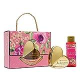 Flor de Mayo, Bolso Big Cuore, Set Regalo en Forma de Bolso con Eau de Parfum Gold...