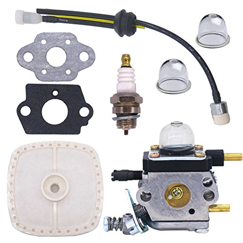 For Sale! NIMTEK C1U-K54 C1U-K54A Carburetor Repower Kit for 2-Cycle Mantis 7222 7222E 7222M 7225 72...