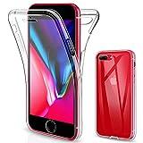 SOGUDE Coque pour iPhone 7 Plus, Coque pour iPhone 8 Plus, iPhone 7 Plus Coque Transparent Silicone...