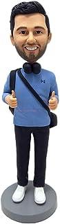 Fotógrafo figurita bobblehead diseño personalizado cabeza bobble nba figura deportiva muñecas de arcilla figuras personali...