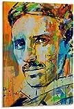 ZRRTTG Leinwand Druck Poster 60x90cm Nikola Tesla Promi