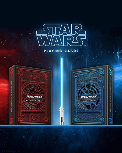 2 Baraja de Cartas Star Wars (Red-Blu) Playing Cards by theory11