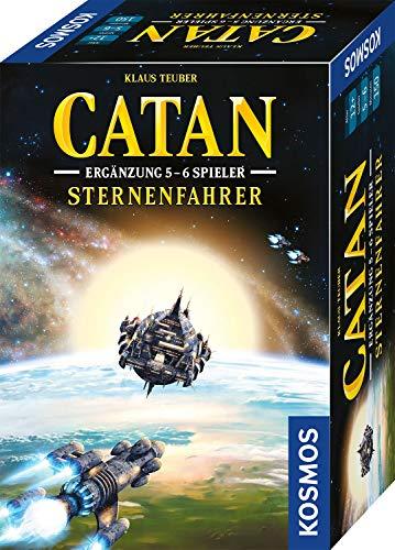 KOSMOS 680466 CATAN – Sternenfahrer, Ergänzung für 5-6 Spieler, Stategiespiel ab 12 Jahre, nur in Verbindung mit CATAN Sternenfahrer (Art.Nr. 693183) spielbar