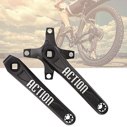 Sutinna Kompakte Kurbel aus Aluminiumlegierung, 170 mm Fahrradkurbel, langlebiges Rennrad für Fahrrad-Mountainbike