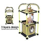 SOULONG 3 Schichten Katze Spielhaus Kätzchen Klettern Scratcher Pet Play Schlaf Haus für kleine...