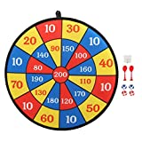 chengong Dart Board Toy, Clear digital number Children Dart Board, boys Indoor Game for home (Style 9)