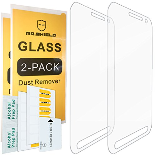 Mr.Shield [2-Pack] for Samsung Galaxy S6 Active (Not Fit for Galaxy S6) [Tempered Glass] Screen Protector with Lifetime Replacement