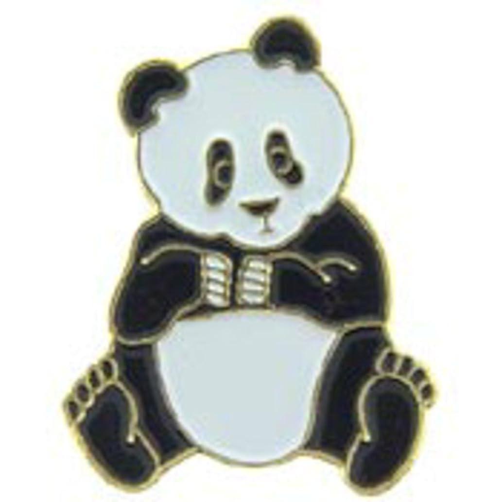 EagleEmblems P64117 Pin-Bear,Panda Teddy (1'')