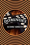 Dominoes Score Sheets: Domino Score Pads Double 12 with Tile Images - 120
