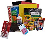 Back to School Essentials Supplies Kit Bundle K-8