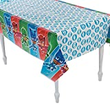 Fun Express - Pj Masks Table Cover for Birthday - Party Supplies - Licensed Tableware - Misc Licensed Tableware - Birthday - 1 Piece