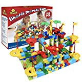 Mimax Marble Run 265PCS, Marble Runs Toy for 3 4 5 6 7 8 9 10 Years Old Kids Boys Girls Gift