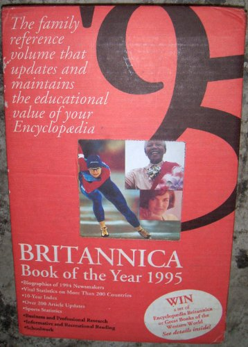Britannica Book of the Year 1995  Brown