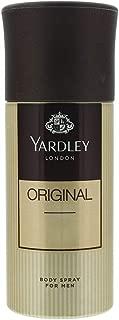 Yardley Original Body Spray For Men, 150 ml