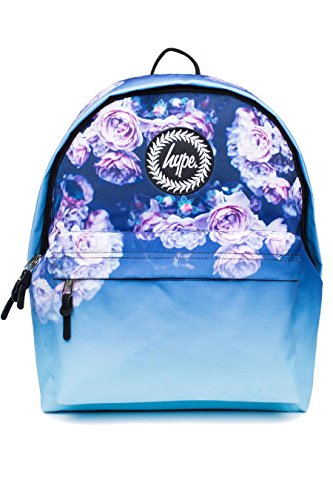 HYPE Backpack Rucksack School Bag for Girls Boys | Rose Fade | Ideal Travel Day Shoulder Pack