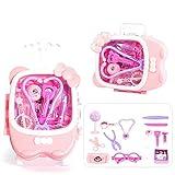 Wghz Kids Doctors Kit Kinder Rollenspiel Zahnarzt, Spielzeugkoffer Doctor Set Toolbox Kinder...