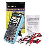 Peanutaso VC17B + Herramienta de medición de multímetro con Pantalla LCD Digital automática Manual