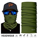 TEFITI Animal Face Shield Mask Bandana UV-Schutz Hochwertige Balaclava-Gesichtstuchschal für Camping, Laufen, Wandern, Radfahren, Motorradfahren, Angeln, Jagd (FS046)