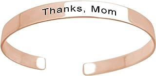 Custom Name Cuff Friend Bracelet Graduation Gift Customizable Bracelet Aibeads Personalized Engraved Bracelets Cuff Bracelet Gift for Love