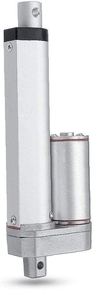 LAANCOO Linear Motion Stellantriebe 750N elektrischer Linearantrieb 12V Motor Linear Motion Controller mit Endschalter Linearantrieb Hub 50 mm