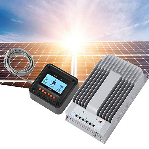 MPPT zonnepaneel laadregelaar inverter stroomgenerator 4215BN + MT50 + PC kabel 12V / 24V 40A
