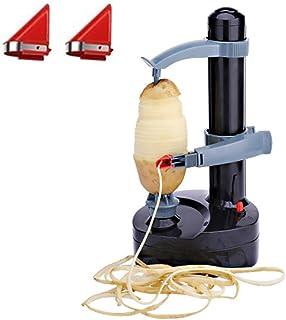 Pelador de patatas eléctrico-automático Rotary fruta y verdura cortadora de manzana máquina de pelar