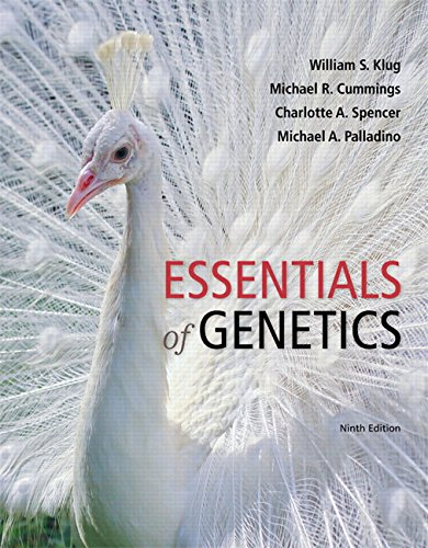 Essentials of Genetics Plus Mastering Genetics with eText -- Access Card Package (9th Edition) (Klug et al. Genetics Ser