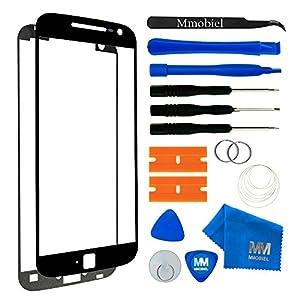 MMOBIEL Kit de Reemplazo de Pantalla Táctil Compatible con Motorola Moto G4 Plus XT1643 (Negro) Incl. Kit Herramientas