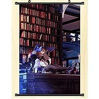 アニメ巻物ポスターGenshin Impactゴッドホームウォールアートアニメファンが絶妙な装飾ギフトを集める19.7x29.5inch / 50x75cm