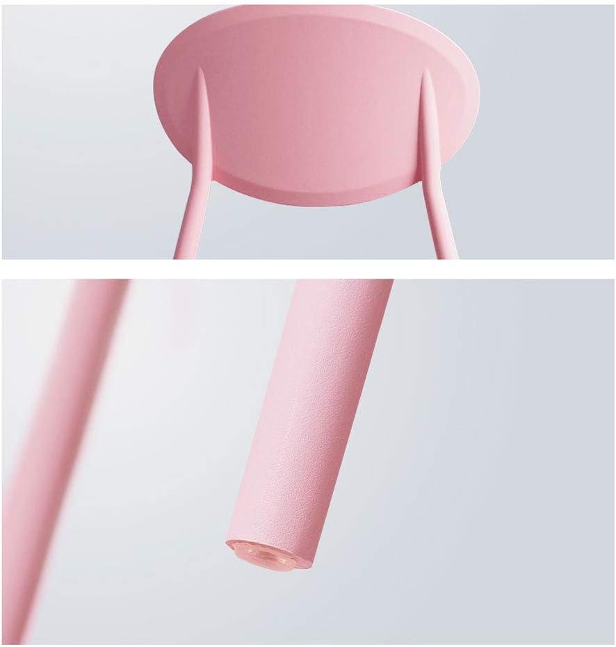 Président WGZ- Chaise Maison Minimaliste Moderne Chaise en Plastique Chaise de Loisirs Chaise de Bureau Simple (Color : A) E