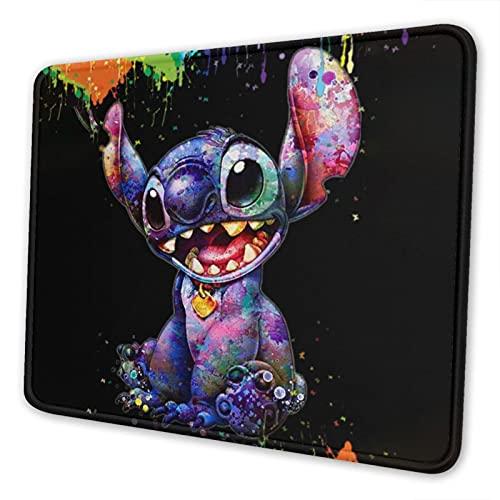 Gaming Mouse Pad, Funny Non-Slip Rubber Mousepad, 22cm X 18 cm (Lilo-Stitch)