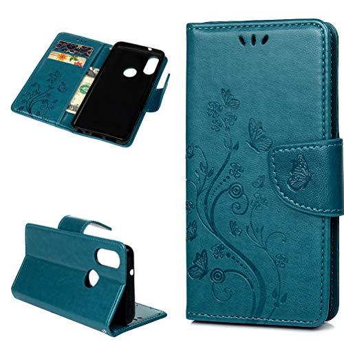 Vogu'SaNa - Funda para teléfono móvil BQ Aquaris X2/X2 Pro, diseño de Mariposas, Piel sintética