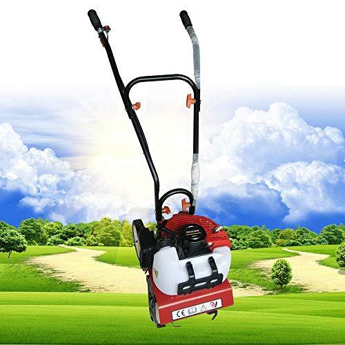 Berkalash 2-Takt 52cc Benzin Gartenfräse, Benzin Vertikutierer Gartenfräse Ackerfräse Motorhacke, Mini Pflüger Grubber, Gartenwerkzeuge