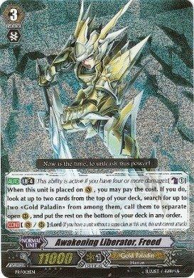 Cardfight!! Vanguard TCG - Awakening Liberator, Freed (PR/0121EN) - Cardfight! Vanguard Promos by Bushiroad Inc.