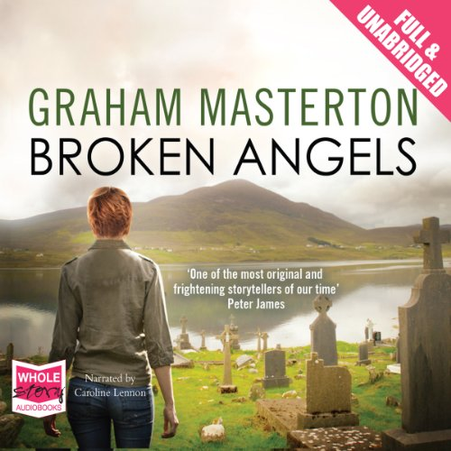 Broken Angels audiobook cover art