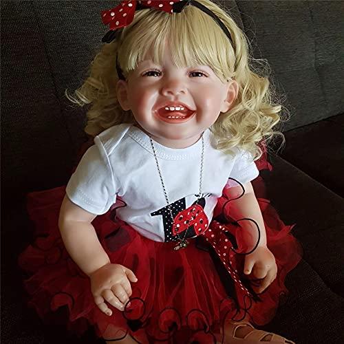 27'Reborn Toyler Girl Big Baby Doll Happore Popular Nuestra Muñeca Feliz Baby Doll Gift