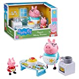 Peppa Pig Cocina Sucia   Conjunto Juguetes Figura Peppa & Papá Pig